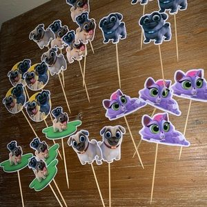 Other - Puppy Dog Pals cupcake toppers